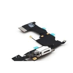 iPhone 5s laddkontakt, hörlursuttag och mikrofon (VIT)