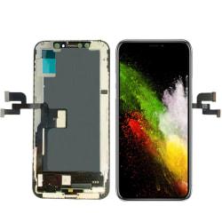 iPhone XS OLED LCD & Pekskärm Digitizer AAA+++ Svart