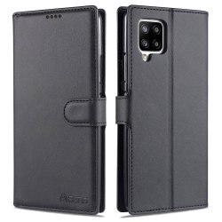 Samsung Galaxy A42 - Praktiskt Plånboksfodral Svart