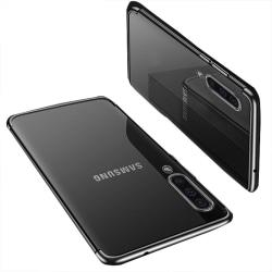 Samsung Galaxy A70 - Stilrent Effektfullt Silikonskal (FLOVEME) Svart