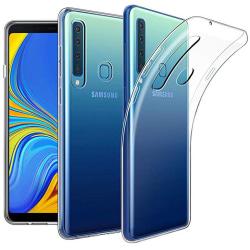 Samsung Galaxy A9 2018 - Stötdämpande Silikonskal Transparent/Genomskinlig