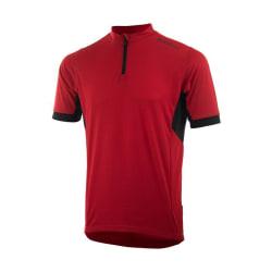 Cycling Jersey SS Perugia 2.0 Red/Black (+ big sizes) 3XL