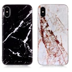 iPhone XR - Skal / Skydd / Marmor Svart
