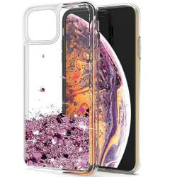 iPhone 11 Pro Max - Flytande Glitter 3D Bling Skal Case