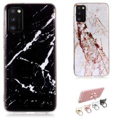Samsung Galaxy A41 - Skal / Skydd / Marmor Vit