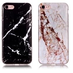 iPhone 7/8/SE (2020) - Skal / Skydd / Marmor iPhone 7 Vit