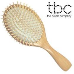 TBC® Hårborste Natur - Bok- & lönn-trä