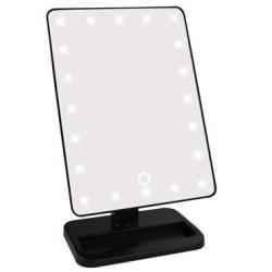 UNIQ Hollywood Spegel Classic 21 LED Svart Svart