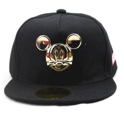 Barn Mickey Mouse Snapback baseball keps pojkar hattar Grey