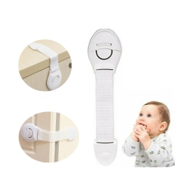 20-pack barnsäkerhetslås Säkra skåp White 20pack