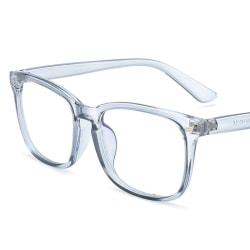 Datorglasögon Anti Blue Light Filter UV Block Eyewear Unisex grey 1 Pack
