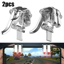 2PCS mobiltelefonspelkontroll PUBG Shooter Gamepad