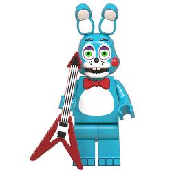 Fem nätter på Freddys minifigurer byggstenar Foxy Game G