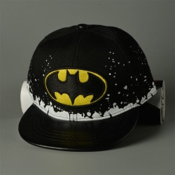 Barnpojkar Flickor Batman Kepsar Justerbar solhatt utomhus Black