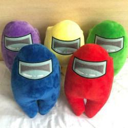 Bland oss Merch Plush Plushie Toy Action Spelfigurer Soft Doll Green