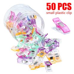 50 / 100st Mini-klipp för tyghantverksstickning 50 pcs