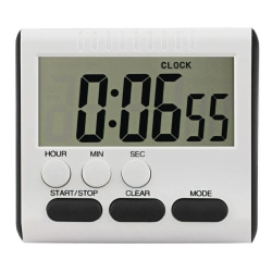 Digital kökstimer LCD Stor matlagningstimer Hög väckarklocka