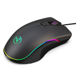 Gaming Mouse 6400 dpi Handgrepp RGB Wired Gaming Mouse