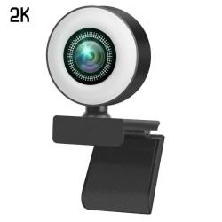 2K / 1080P Full HD USB-webbkamera Webbkamera Videosamtal 2K