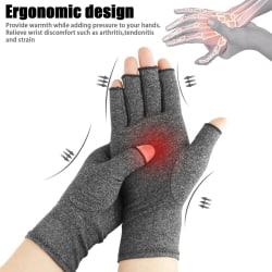 Kompressionshandskar Artrit Handskar i handleden Grey S