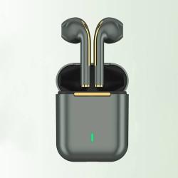 Trådlösa Bluetooth 5.0-hörlurar med stereoljud HD-musik Green