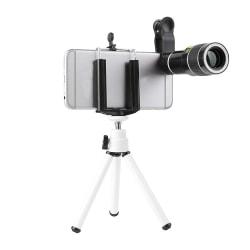 Universal mobiltelefonkamera zoomobjektiv 20X teleskop mini