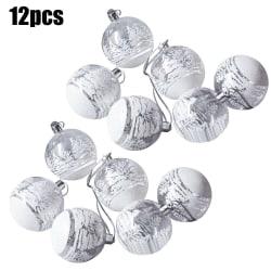 12 julkula ornament för bröllopsfest dekor 12pcs