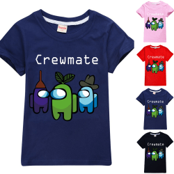 Among Us Game T-shirt Imposter Crewmate Gaming Boys Girls Tops