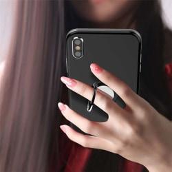 Magnetiska fingergreppshållare 360 roterande stativ Pink