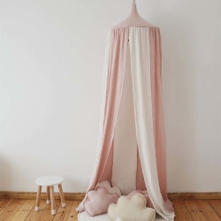 Babyfärgmatchande tält Hem Outsport skyddsnät rosa