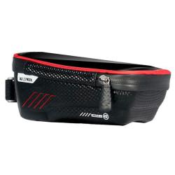 Bike Framme Pouch Bag Mobiltelefonhållare Red 1L