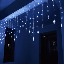 LED Curtain Fairy Polaris Lights Christmas Party Lighting Decor White