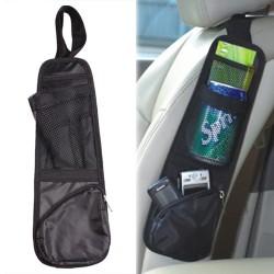 Auto bil sidoförvaringsficka hängande väska organisatorpåse