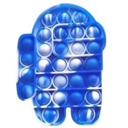 Pop It Among Us Bubble Stressboll Fidget Kids Decompression Toy #3