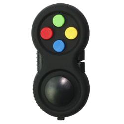 Fidget Pad Fidget Toy Cube Barn Skrivbord Leksak Vuxna Present Black Camouflage