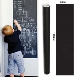 Tavlan Blackboard avtagbar väggklistermärke 45*200CM