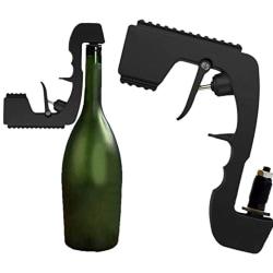 Champagnespruta Bubbly Mousserande vinstopp för fest Black