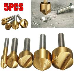 Försänksborrsats 1 flöjter mot metallbearbetning
