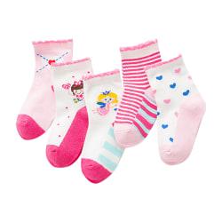 Cute Fairy Cartoon Animate Baby Sock Kids Strumpa för 0Y-5Y Random L