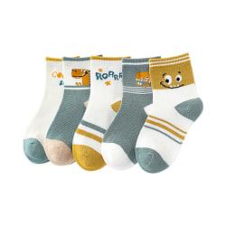 Söt Roaring Dinosaur Animate Baby Sock Kids Strumpa för 0Y-5Y Random S