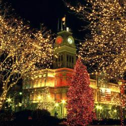 30 m LED -lampor för julgranar utomhus inomhus bröllopsinredning Warm White