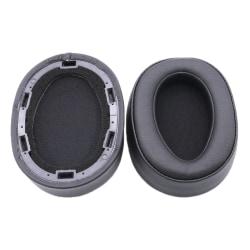 Öronkuddar För Sony MDR 100ABN WH H900N Ersättning Black