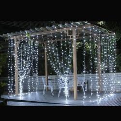 Creative Night Light LED Garden Wedding Party Decor Blue
