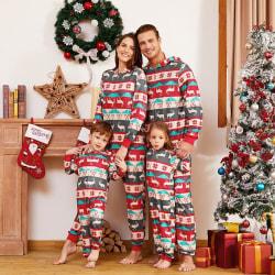 Familj Matchande julpyjamas Vuxna barn Baby Xmas Nightwear