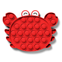 Pop It Sensory Fidget Toys Push Bubble Stressboll Game Gift Crab