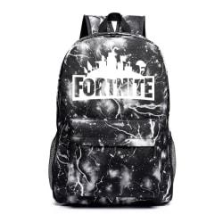 Fortnite Luminous Backpack Laptop Backpack School Daypack Travel Black
