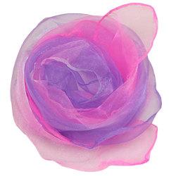 Gradient lätt kläd upp silkescarf