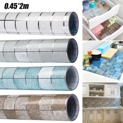 Kök vattentätt väggdekor mot olja Grey