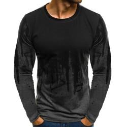 Huvtröja med luvtröja för män Toppar Långärmad tröja Grå