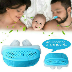 Mini-CPAP Anti Snarking Device Stop Snore Stopper Nose-Machine